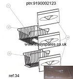 Genuine BEKO Drawer Front: 9190002123