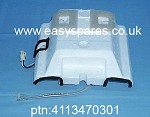 Genuine BEKO  STYROFOAM COVER ( DAMPER THERMOSTAT ) 4113470301